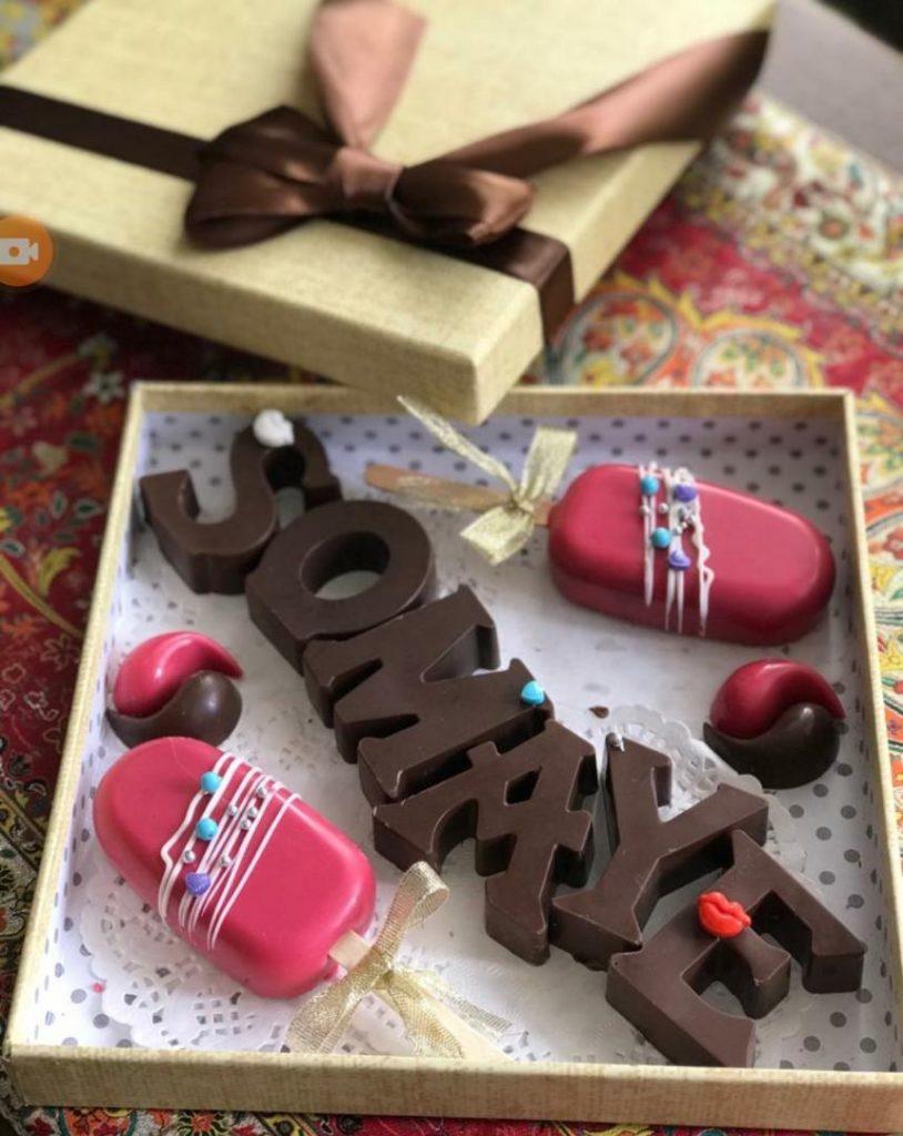 شکلات فانتزی هدیه جشن تولد