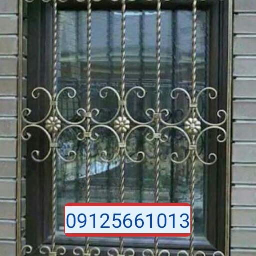 تولید انواع درب و پنجره آهنی و فرفورژه